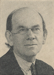 Author photo. Cut down scan of back cover of Penguin No.658. Unattributed photo.
