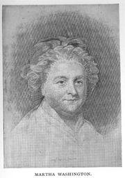Author photo. Martha Dandridge Washington (1732-1802), Buffalo Electrotype and Engraving Co., Buffalo, N.Y.