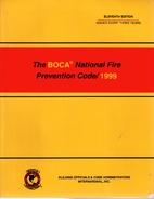 The BOCA National Fire Prevention Code/1999…