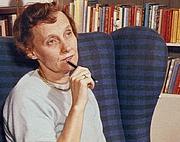 Author photo. Astrid Lindgren, ca. 1960 [source: Astrids bilder; author: unknown]