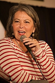 Author photo. Roseanne Barr at the Hard Rock Cafe in Maui in 2010 by Leah Mark