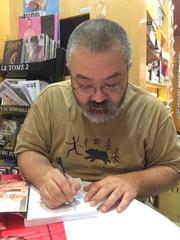 Author photo. Gengoroh Tagame @ Les Mots à la Bouche, Paris