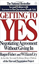 Getting to Yes : Negotiating Agreement…