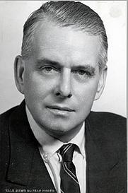 Author photo. Frederick G. Kilgour [credit: Yale University]