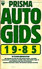 Prisma autogids 1985 by B. Olyslager…