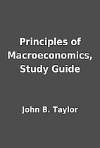 Principles of Macroeconomics, Study Guide by…