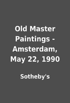 Old Master Paintings - Amsterdam, May 22,…