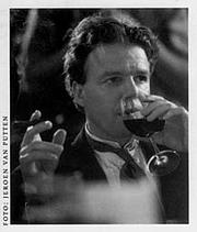 Author photo. Geerten Meijsing, AKO Literature Prize 1988