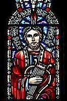 Author photo. Venantius Fortunatus, Holy Cross Church, Boston.  Photo by user Stanp / Wikimedia Commons
