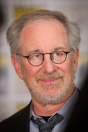 Author photo. Steven Spielberg. Photo by Gerald Geronimo.