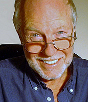 """Author photo. Ken McClure, author of """"Donor"""" and """"Wildcard"""""""