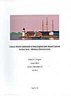 Coastal Marine Sediments of New England with…