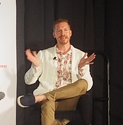 """Author photo. reading at the National Book Festival, Washington, D.C. By slowking4 - Own work, GFDL 1.2, <a href=""""https://commons.wikimedia.org/w/index.php?curid=72267013"""" rel=""""nofollow"""" target=""""_top"""">https://commons.wikimedia.org/w/index.php?curid=72267013</a>"""