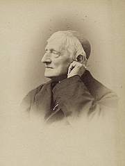 """Author photo. """"His Eminence Cardinal Newman""""<br>Courtesy of the <a href=""""http://digitalgallery.nypl.org/nypldigital/id?1158454"""">NYPL Digital Gallery</a><br>(image use requires permission from the New York Public Library)"""