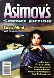 Asimov's Jul 2016 cover
