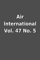 Air International Vol. 47 No. 5