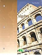 Algebra 1 test booklet by Math U See
