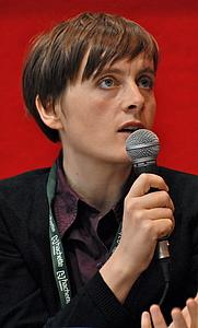 Author photo. Lisa Mandel (by Asclepias, 2010)