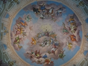 Author photo. Deckenfresko von Bartolomeo Altomonte, Bibliothekssaal, Stift Admont. Photo by user Fb78 / Wikimedia Commons.