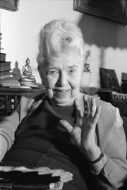 Author photo. Mária Szepes in 1992.