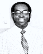 Author photo. Stephen Alexander Fortune at NCCU faculty of History, 1982