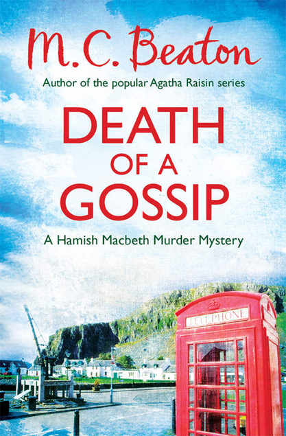 Death of a Gossip cover