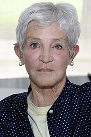 """Author photo. Author Paulette Jiles at the 2017 Texas Book festival. By Larry D. Moore, CC BY-SA 4.0, <a href=""""https://commons.wikimedia.org/w/index.php?curid=63908523"""" rel=""""nofollow"""" target=""""_top"""">https://commons.wikimedia.org/w/index.php?curid=63908523</a>"""