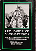 The Search For Missing Friends: Irish…