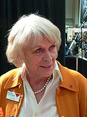 Author photo. Ilon Wikland (2007)<br>Photo: Hanibal