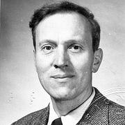 Author photo. Dr. John Stoye