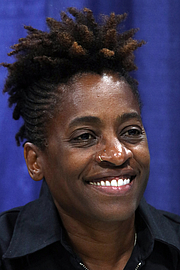 """Author photo. Woodson at the 2018 U.S. National Book Festival By Fuzheado - Own work, CC BY-SA 4.0, <a href=""""https://commons.wikimedia.org/w/index.php?curid=72310421"""" rel=""""nofollow"""" target=""""_top"""">https://commons.wikimedia.org/w/index.php?curid=72310421</a>"""