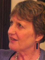 Author photo. Angela Bourke, circa 2013
