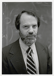 Author photo. Prof. Saul A. Kripke. Photo credit: Robert P. Matthews, 1983 (photo courtesy of Princeton University)