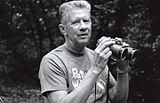 Author photo. Chandler Robbins, in the field. Robbins, an American ornithologist, wrote an influential field guide to birds and organized the North American Breeding Bird Survey. By Barbara Dowell - United States Geological Survey - Patuxent Wildlife Research Refuge, CC BY-SA 4.0, <a href=&quot;//commons.wikimedia.org/w/index.php?curid=38030036&quot; rel=&quot;nofollow&quot; target=&quot;_top&quot;>https://commons.wikimedia.org/w/index.php?curid=38030036</a>