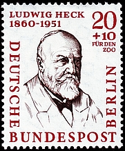 Author photo. Deutsche Bundespost Berlin / Wikimedia Commons