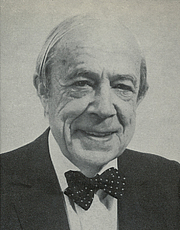 Author photo. Cropped scan of back cover of <i>Private and Controversial</i>, published by Cassell &amp; Co..