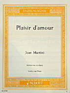 Plaisir d'amour - Romanze by Jean Martini