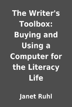 The Writer's Toolbox: Buying and Using…