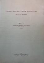 Babylonisch-Assyrische Lesestucke: Heft I:…