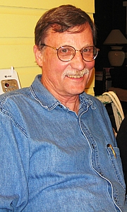 Author photo. Howard Bahr (May 2009)