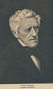 Author photo. Franz Grillparzer (1791-1872)