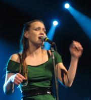 Author photo. Sara Covich (Seattle, 2006)