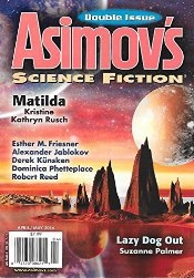 Asimov's Apr-May 2016 cover