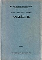 Analízis 2 by Jenő Pál