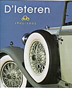 D'leteren 1805-2005: 200 Years History by…