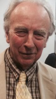 Author photo. Hosking at Pushkin House in 2015