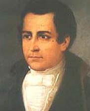 Author photo. 19th-century painting of Moreno