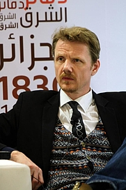 Author photo. Bjarni Bjarnason at the Abu Dhabi International Book Fair. By BooksOn - Own work, CC BY-SA 4.0, <a href=&quot;https://commons.wikimedia.org/w/index.php?curid=61700693&quot; rel=&quot;nofollow&quot; target=&quot;_top&quot;>https://commons.wikimedia.org/w/index.php?curid=61700693</a>