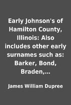 Early Johnson's of Hamilton County,…