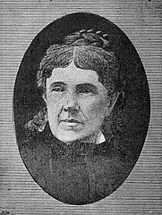 Author photo. Image from <b><i>The story of an earnest life: a woman's adventures in Australia, and in two voyages around the world</i></b> (1881) by Eliza Davies
